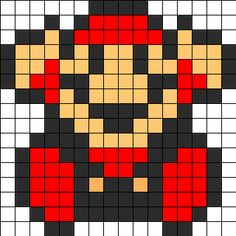 Search Results: Mario Bead Patterns Fuse Bead Patterns, Kandi Patterns, Perler Patterns, Beading Patterns, Crochet Patterns, Super Mario, Pixel Art Templates, Perler Bead Templates, Perler Bead Mario