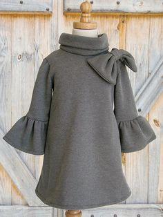 Girls Dress Easy PDF sewing pattern by MyChildhoodTreasures