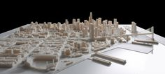 CGarchitect - Professional 3D Architectural Visualization User Community | Steelblue Unveils Largest 3D Printed Interactive City Model of San Francisco