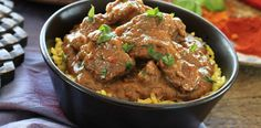 Goan Indian lamb curry