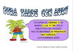 Tercera sesión Club de Lectura Familiar. Día Internacional del Libro Infantil y Juvenil: nos visita Andersen