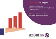 #Emisarios, la agencia que tu empresa necesita. #ConocenosyTeConocerán.