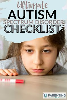 Autism spectrum disorder is commonly diagnosed in young children, but sometimes they get missed until adulthood. If you are a concerned parent, use this ultimate checklist to look out for all ASD symptoms! #autisminteens #asdsymptoms Asd Symptoms, Autism Spectrum Disorder Symptoms, Autism Parenting, Parenting Hacks, Doctor For Kids, Children With Autism, Disorders, Teen