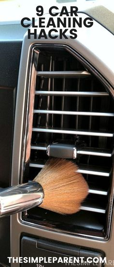 Keep your car or van clean with these easy cleaning hacks! Use things around your house to detail your car and get it more organized! van life hacks life food hacks life hacks cleanses life hacks ideas life hacks mini life hacks road trips life hacks tips Car Cleaning Hacks, Bathroom Cleaning Hacks, Car Hacks, House Cleaning Tips, Diy Nightstand, Home Organization Hacks, Car Detailing, Clean House, Keep It Cleaner