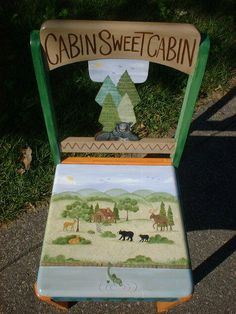 Campfire/woodland patterns, ideas? - Decorative & Tole Painting Forum - GardenWeb