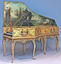 Marie Antoinette's Harpsichord by Andreas Ruckers