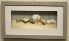 Beach Ocean Surf Starfish Framed Shadow Box Wall Art Home More
