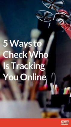 5 Ways to Check Who Is Tracking You Online... #OnlinePrivacy #Security Life Hacks Iphone, Android Phone Hacks, Life Hacks Computer, Cell Phone Hacks, Smartphone Hacks, Computer Basics, Computer Help, Computer Internet, Computer Security