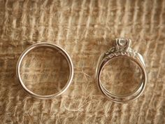 Wedding Rings: Photo by Midwest LifeShots Photography via Heather Renee Celebrations