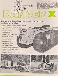 20 Best Arnold Ranger Ferret Otter Images Tractors