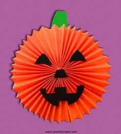 zucca-decorazioni-halloween-5 Casa Halloween, Halloween 2015, Halloween Crafts, Diy Christmas Decorations For Home, Christmas Home, Fall Crafts, Crafts For Kids, Arts And Crafts, Girl Guides