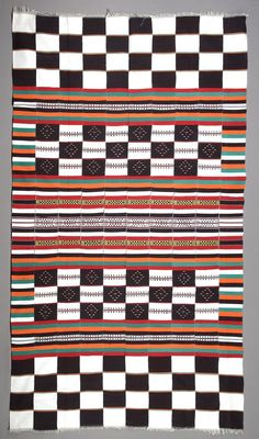 Africa | Textile from Mali, Bamana people | Cotton