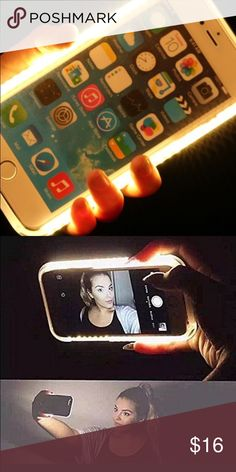 selfie case illuminated selfie case light up led iphone 6 Accessories Phone Cases