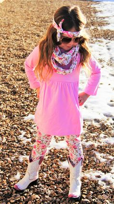 Pink Floral 3pc Scarf Set #boutique-outfits #new #perfect-sets