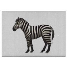 #Zebra - Emoji Cutting Board - #emoji #emojis #smiley #smilies