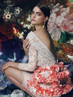 Floral Dream by Marina Danilova, via Behance