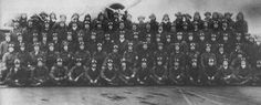 This photograph of 92 B5N2 pilots and crewmen from Japanese Carrier Kaga was taken on December 6, 1941 (Hawaii time), as the crews readied for the attack on Pearl Harbor. By the end of the next day, 15 of them would be dead. (Takeshi Maeda collection).