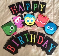 Inside Out Birthday Banner