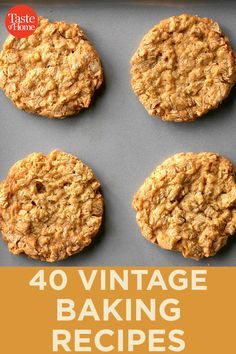 Our methods for making baked goods may have changed over the years, but vintage recipes still make some of the best treats imaginable! Dog Recipes, Baking Recipes, Crowd Recipes, Baking Tips, Family Recipes, Holiday Recipes, Unique Recipes, Vintage Recipes, Southern Buttermilk Biscuits