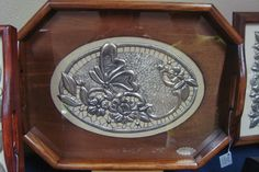 Metal Worx, Metal Embossing, Decoupage, Metal Working, Pewter, Tray, Arts And Crafts, Home Decor, Copper