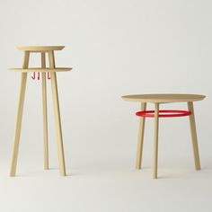 Noughts and Crosses tables by Michael Sodeau for Modus #design