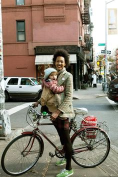 Babies and city living: #motherhood #mom via a cup of jo and anna wolf: www.annawolf.com