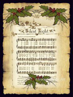 Christmas Sheet Music, Noel Christmas, Homemade Christmas, Christmas Crafts, Christmas Decorations, Xmas, Etsy Christmas, Sheet Music Crafts, Sheet Music Art