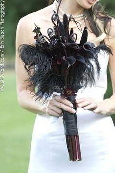 50 Adorable Halloween Bouquet Wedding Ideas