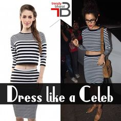 Kangana Ranaut has a sexy swagger to die for.  Shop the bold N bindaas Kangana look for less: http://ow.ly/YkuvG