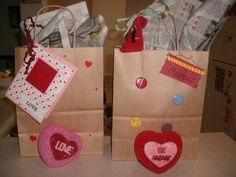 Valentine's Day baskets for teens