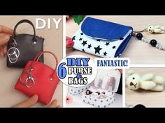 In this video DIY tutorial I show you an easy way to make the purse bag by own hands from scratch. Diy Bags Tutorial, Pouch Tutorial, Bag Tutorials, Diy Doll Purse, Channel Purse, Diy Crafts Tv, Diy Pouch Bag, Diy Bag Designs, Diy Handbag