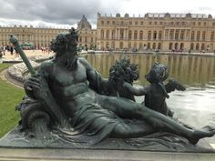 Sienne the God at Versailles