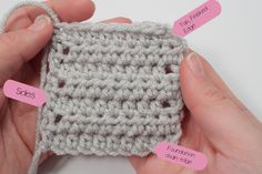 A Lesson in Seaming - includes videos for a few different methods of seaming together granny squares.
