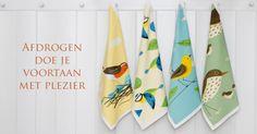 Handdoekjes Birdy bij Vogelbescherming Vlaanderen: