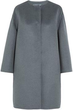 Prada - Wool, Angora And Cashgora-blend Coat - Gray - IT