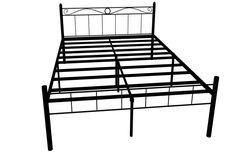FurnitureKraft London King Size Metal Bed (Glossy Finish, Black): Amazon.in: Home & Kitchen Metal Beds, King Size, Home Kitchens, London, Amazon, Black, Home Decor, Amazons, Decoration Home