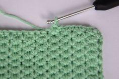Hæklet karklud Crochet Kitchen, Crochet Home, Knit Crochet, Stitch Patterns, Knitting Patterns, Crochet Patterns, Knitting Projects, Crochet Projects, Crochet Dishcloths