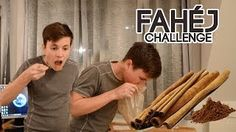 EZ DURVA! - Fahéj kihívás / Cinnamon challenge - YouTube