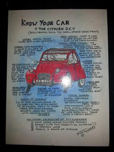 words of wisdom - 2cv