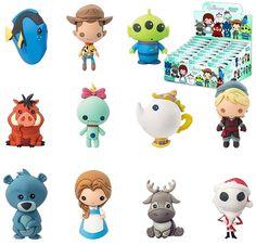 Chaveiros Disney 3D Monogram Figural Keyrings Série 5