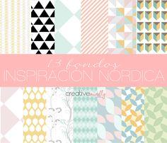 Fondos nórdicos - Nordic Pattern