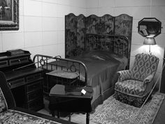 Proust's bedroom. Photograph courtesy of Eric Karpeles.