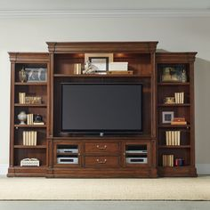 online shopping for Hooker Furniture Clermont 129 Entertainment Center Warm Cherry from top store. See new offer for Hooker Furniture Clermont 129 Entertainment Center Warm Cherry Entertainment Center Furniture, Home Entertainment Centers, Entertainment System, Hooker Furniture, Living Room Furniture, Furniture Sale, Cherry Furniture, Furniture Decor, Furniture Storage
