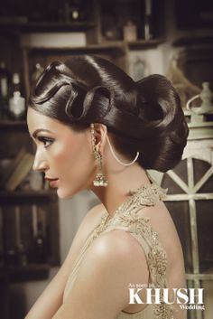 Hair for the big day! Saira Rahman Hairstylist provides intricate and unique hair designs for the bride and guests.  Call for a free bridal consultation and training enquiries   +44 (0)7940 985 999 info@sairarahman.co.uk www.sairarahman.co.uk  Makeup: Summaya Outfit: Style Rooms Earrings: Anees malik