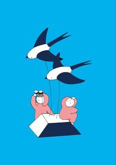 鳥さんのようにいつでも空を飛んで お腹が減ったら木の実を食べて 高いところからきれいな夕陽を見たりもして その日暮らしをしてみたいな。 人間のまま(笑)。 Snoopy, Fictional Characters, Fantasy Characters