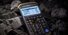 Ruggedized scientific calculator perfect for extreme math