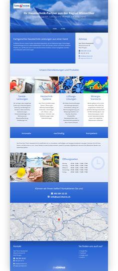 Sani Therm Haustechnik, Winterthur, Sanitär-Leistungen, Heiztechnik-Systeme, Lüftungs-Lösungen