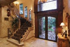 Love this entrance from the inside