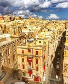 #Stunning photo of Malta's Capital City #Valletta the city that was awarded with…