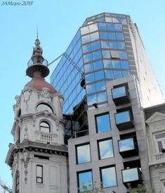 Opposites ~ Old vs. New Architecture in Buenos Aires, Argentina